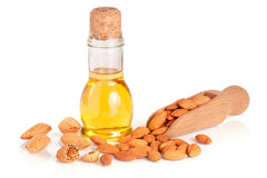 organic almond oil skin care