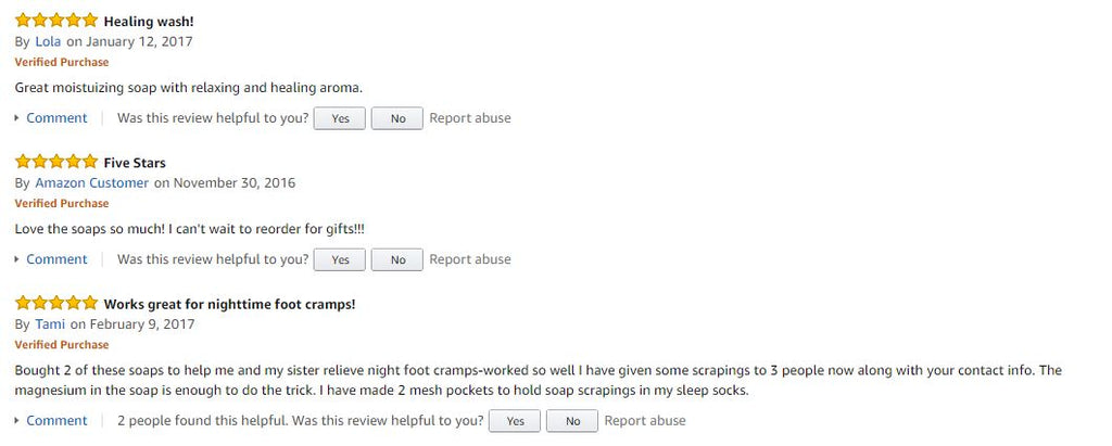 amazon natural soap reviews