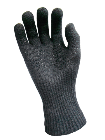 Flame Retardant Waterproof Gloves Charcoal EN407 (CE certified)