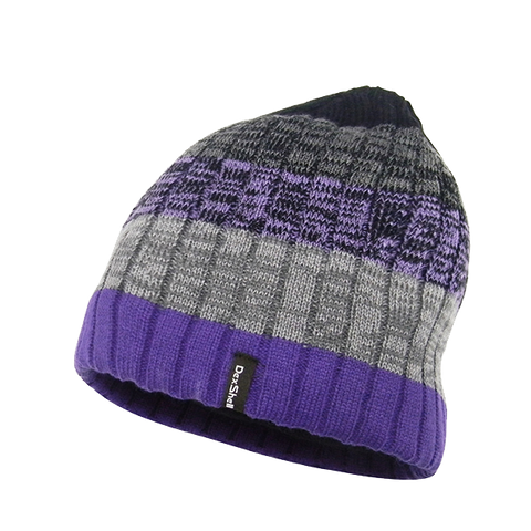 Waterproof Beanie Gradient Purple