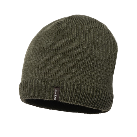 Waterproof Beanie Solo Olive Green