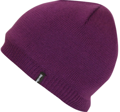 Waterproof Beanie Solo Purple
