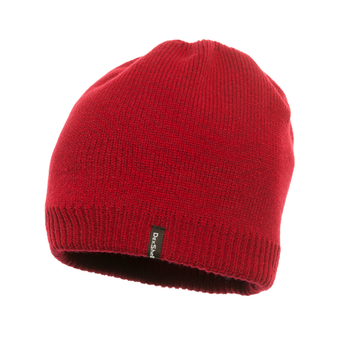 Waterproof Beanie Solo Red