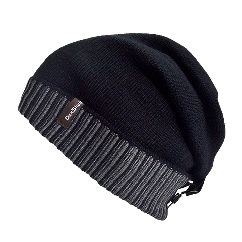 Waterproof Beanie Slouch Back