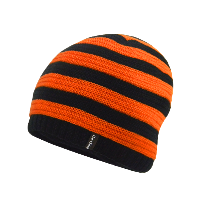 Children Beanie Tangelo Stripe