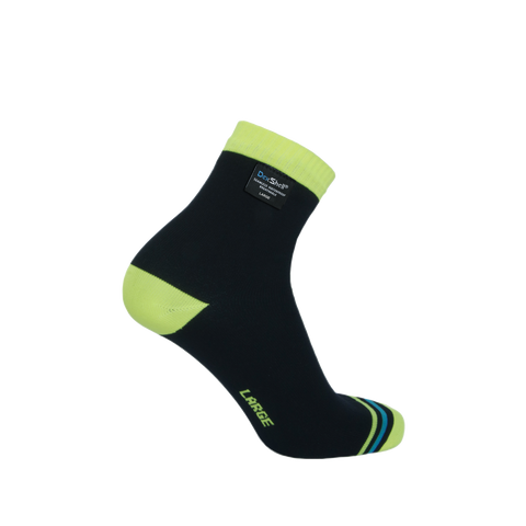 Ultralite Biking Waterproof Socks Hi-Vis Yellow