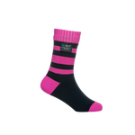 Children Waterproof Socks Pink Stripe