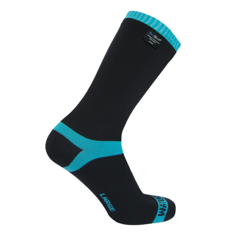 Coolvent Waterproof Socks Aqua Blue Stripe