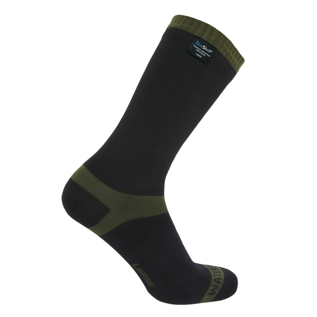 Trekking Socks Stripe Olive Green