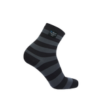 Ultralite Bamboo Socks Gray Stripe
