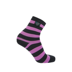 Ultralite Bamboo Waterproof Socks Pink Stripe