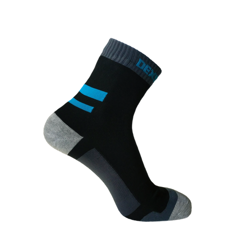 Running Waterproof Socks Aqua Blue
