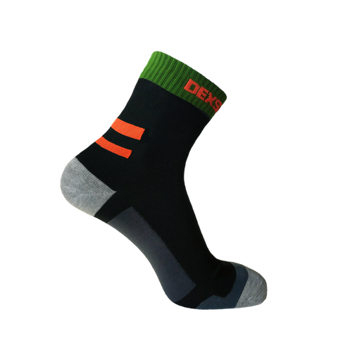 Running Socks Blaze Orange