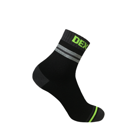 Pro Visibility Cycling Waterproof Socks Grey