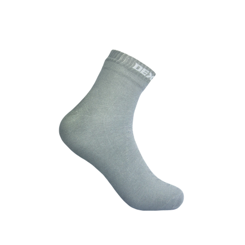 Ultra Thin Waterproof Socks High Rise Gray