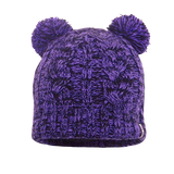 Children's Waterproof Beanie Cable Twin Pompom