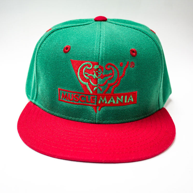 Green Red - Snapback Hat – Musclemania Store 2102987d662