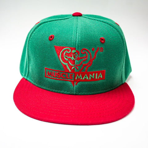 Green/Red - Snapback Hat