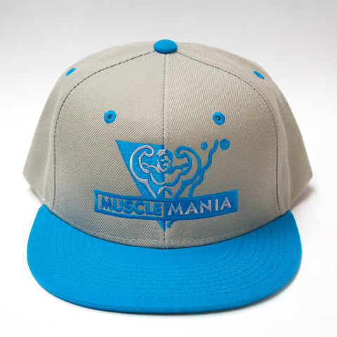Grey/Teal – Snapback Hat