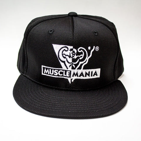 Black/White - Performance Mesh Snapbacks Hat