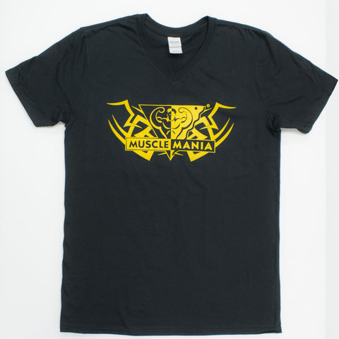 Gold Tribal Musclemania T-Shirt