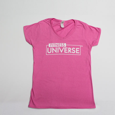 Fitness Universe Women T-Shirt - Pink