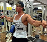 White - Stringer Tank Top