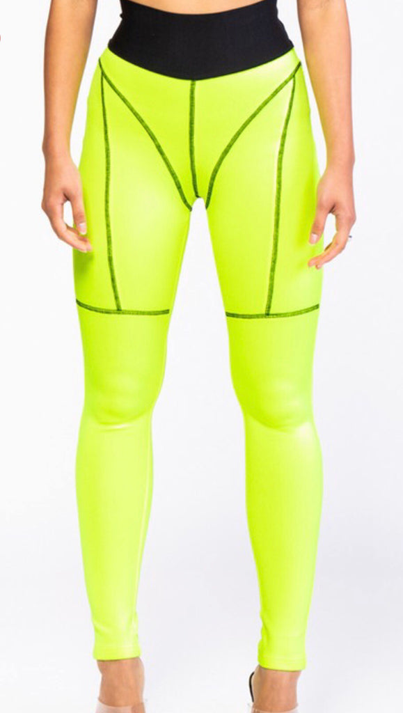 SLIME-ISH LEGGINGS