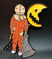 Trick Horror Treater Pin