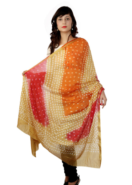 Brown Beauty Bandhani Dupatta