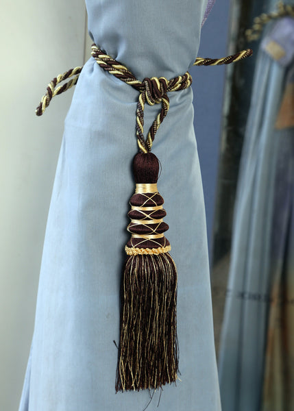 Dark Chocolate Curtain Tieback