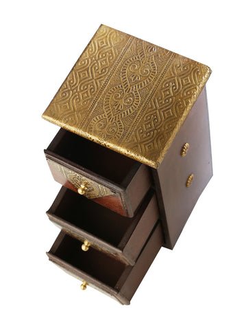 Golden Dressing Box