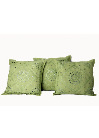Kashida Mirror Work Cushion Covers