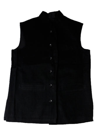 Khadi Jacket - Black