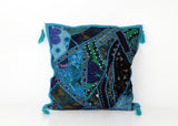 Patchwork Kashida Cushion Covers