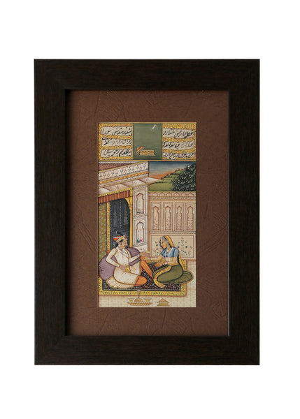 Private Moments Miniature Painting