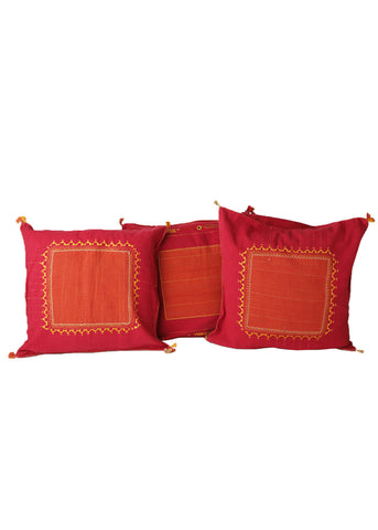 Soothing Red Cushion Covers