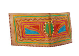 Wallet with Kashida work