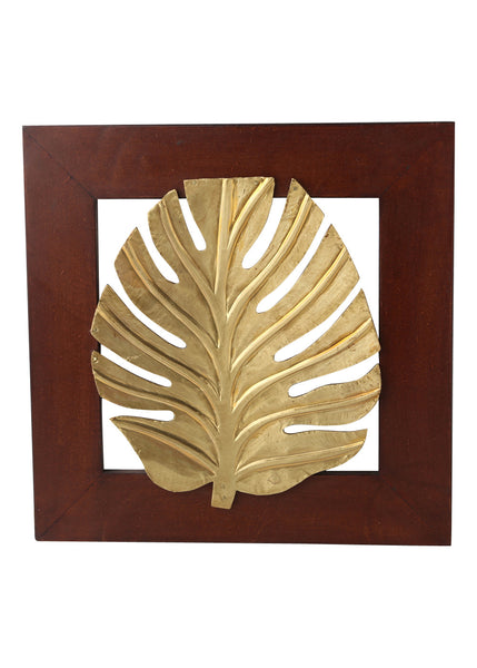 Wooden Panel Leaf - Design 3