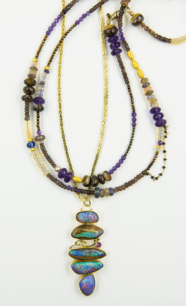 gem-beaded-chain-boulder-opal-amethyst-Jennifer-Kalled