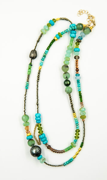 Jennifer-Kalled-gem-beaded-chain-necklace-34-inch-kalled-gallery