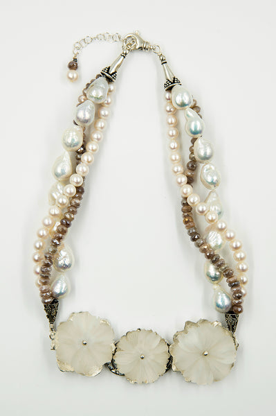 Jennifer-Kalled-Quartz-blossom-baraque-pearls-moonstone-sterling-silver-necklace-kalled-gallery