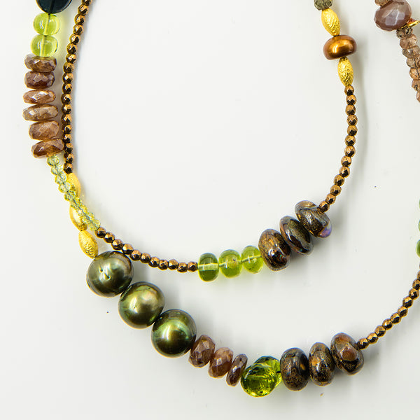 gem-beaded-chain-necklace-peridot-tourmaline-18k-Jennifer-Kalled