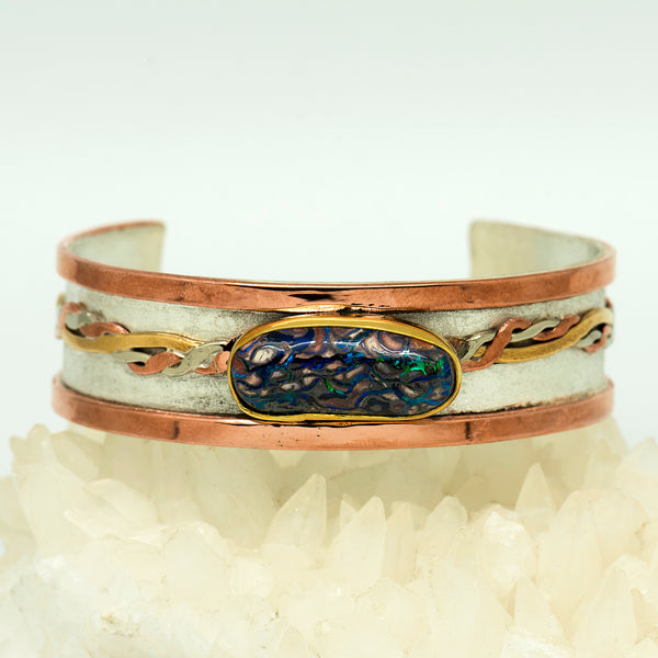 koroit-opal-matrix-copper-sterling-silver-Jennifer-Kalled