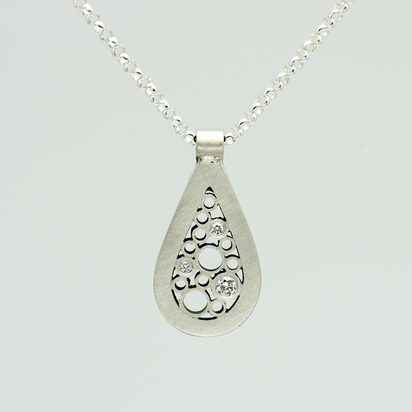 Belle-Brooke-Designs-sterling-silver-diamond-teardrop-necklace-kalled-gallery