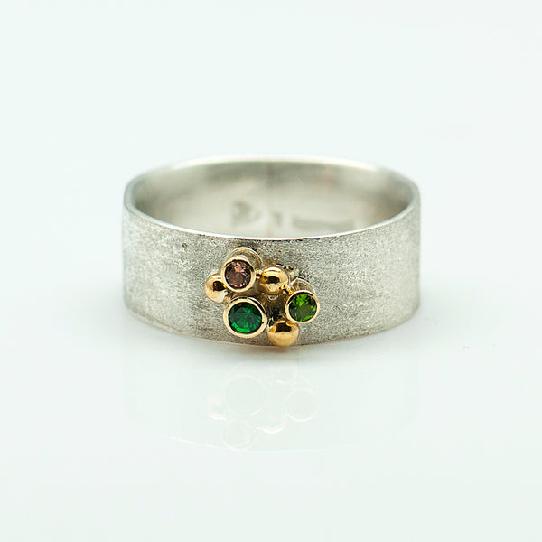 Zoe-ring-sterling-silver-22k-18k-gold-Jennifer-Kalled