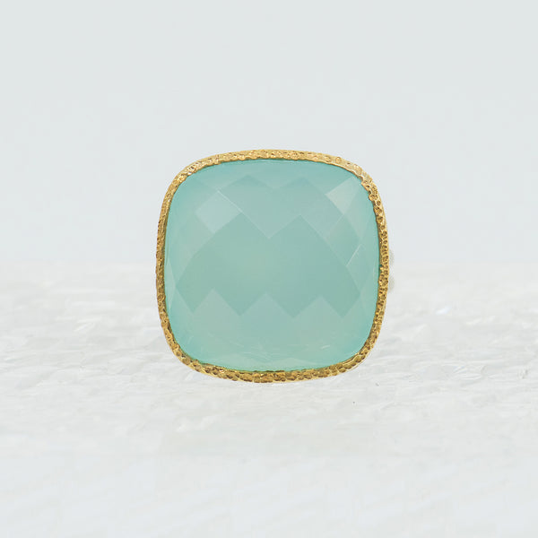 Vasant Designs Chalcedony Ring