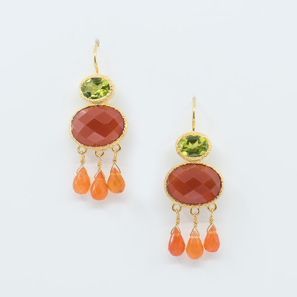 Vasant-Designs-carnelian-peridot-vermeil-earrings-kalled-gallery