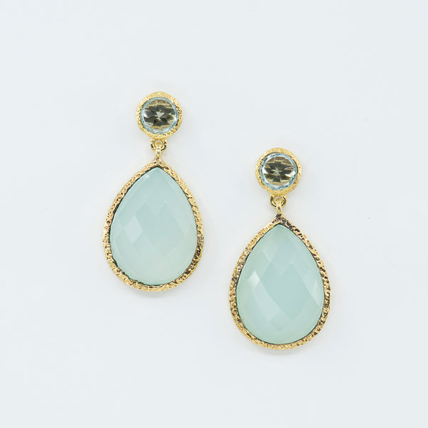Vasant-Designs-Chalcedony-blue-topaz-vermeil-earrings-kalled-gallery