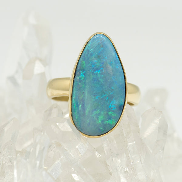 Jennifer-Kalled-Australian-boulder-opal-22k-gold-ring-kalled-gallery
